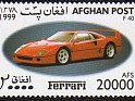Afghanistan 1999 Ferrari 20000 AFS Multicolor. Uploaded by DaVinci