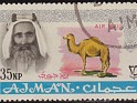 Ajman 1965 Characters 35 NP Multicolor Scott C3. Ajman 1965 Sello C3 Sheik. Uploaded by susofe