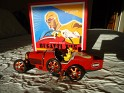 Marxu - Car - Bugatti T35 - Red - Metal - Mechanical Wind-Up - 1