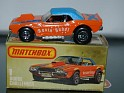Matchbox - Car - Dodge Challenger - Orange & Blue - Metal - 0