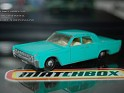 Matchbox - Car - Linconl Continental - Blue - Metal - 0