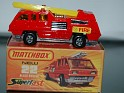 Matchbox - Car - Superfast New Blaze Buster - Red - Metal - 0