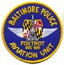 Police - Textile - United States - Baltimore Police Aviation Unit. Foxtrot - 1970 - Baltimore, Aviation, Foxtrot - 1
