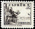 Spain 1937 Cid & Isabella 5 CMS Sepia Edifil 816. España 816. Uploaded by susofe