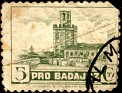 Spain 1938 Pro Badajoz 5 CTS Green. Uploaded by Mike-Bell