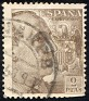 Spain - 1940 - General Franco - 2 Ptas - Castaño - Dictator, Army General - Edifil 932 - 0