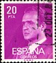 Spain 1977 Don Juan Carlos I 20 PTA Purple Edifil 2396