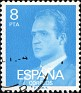 Spain 1977 Don Juan Carlos I 8 PTA Blue Edifil 2393. Uploaded by Mike-Bell