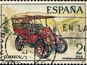Spain 1977 Old Spanish Vehicles 2 PTA Multicolor Edifil 2409. Uploaded by Mike-Bell