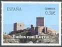 Spain - 2012 - Lorca - 0,36 € - Multicolor - Spain, Lorca, Murcia - Edifil 4691 - Castle - 0