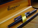 Waterman - France - Stylograph - Black & Gold - Waterman, Paris - Dark blue case - 1
